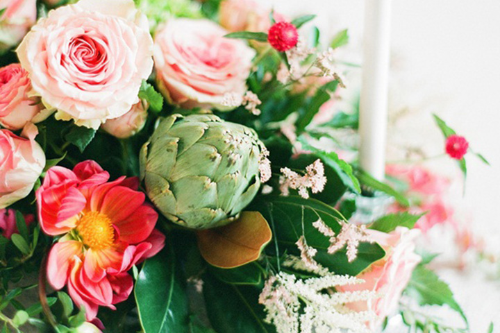 Artichoke-Wedding-Centerpiece