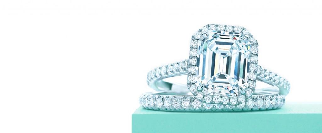 Годежен пръстен с диамант с форма Emerald Cut